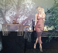 look of the day 2016/07/15 (=DeLa*=) Tags: hair shiny mesh style potd sl secondlife crossroads dela materials tlc the shabby lotd fitted secondlifefashion slhair