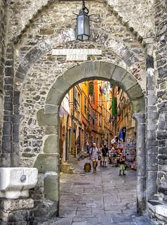 Porto Venere old village access gate