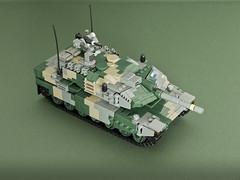 Leopard 2N [Strv. 130] (Aleksander Stein) Tags: lego military leopard 2 main battle tank mbt