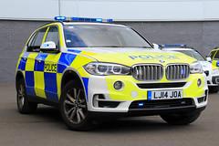 Northumbria Police BMW X5 Armed Response Vehicle (PFB-999) Tags: northumbria police norpol bmw x5 4x4 armed response vehicle car unit arv firearms lightbar grilles fendoffs wing mirror lights leds lj14joa