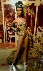 Dominique (krixxxmonroe) Tags: ira d ryan photography krixx monroe styling high fashion aa brown black doll ooak lip repaint dominique makeda rare appeal integrity toys jason wu