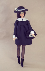 Witchy (criscrash13) Tags: sevinyl doll sewing witch salem mod