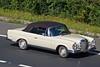 CDG 676F - 1968 Mercedes 250SE Cabriolet (peco59) Tags: mercedes classiccar mercedesbenz cabriolet 250se cdg676f