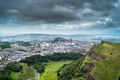 From Arthur's Seat (petespande) Tags: clouds 50mm scotland edinburgh 18 arthursseat nikond750