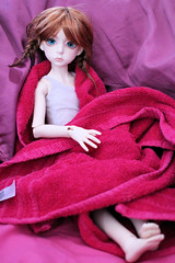 Drying Off (Lucy-Loves?) Tags: doll bjd dollstown ganga olive