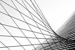 Form from Line (Alan Amati) Tags: amati alanamati wisconsin wis ws milwaukee mam milwaukeeartmuseum geometry line lines form art architecture highkey cables shape curve crisscross intersect monocrome bw blackandwhite blackwhite abstract graphic