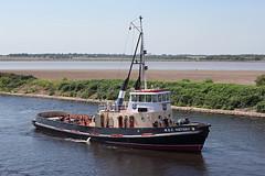 'MSC Victory' Runcorn 19th July 2016 (John Eyres) Tags: msc victory 1974 taken stern islas dos arriving runcorn docks 190716 manchestershipcanal