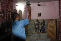 Ringing bells, joining hands. (ExplorerInTheDark) Tags: prayer bell india delhi hinduism hindu religion devotee devotion love respect god diversity temple