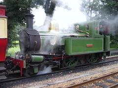 Isle of Man Steam Railway: G.H Wood at Castletown (28/07/2016) (David Hennessey) Tags: isle man steam railway beyer peacock 10 gh wood castletown