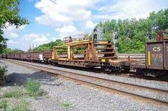 Chessie System Rail Train (Fan-T) Tags: csx chessie system rail train mow berea bohio