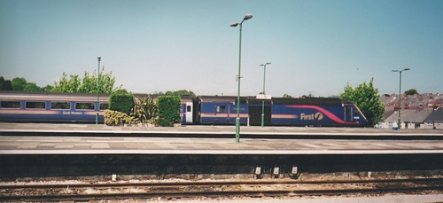 HST at Plymouth in 2004