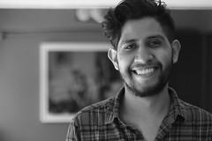 Retrato (sergiochilango) Tags: retrato portrait blanco y negro monocromo sonrisa mexicano