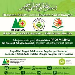 Program sehat #zakat #masyarakat #izi #akperberkala #smkmeiliamedika #sehat #layanan #dokter #rsmeilia #cibubur #depok.#cileungsi #bekasi #bogor #jakarta #tangerang #indonesia (yudhihertanto1) Tags: bogor cileungsi bekasi smkmeiliamedika jakarta sehat depok izi indonesia layanan zakat tangerang rsmeilia dokter akperberkala cibubur masyarakat