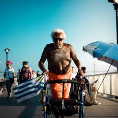 OG (zeus428) Tags: coneyisland elderly greece pride youth beach newyork brooklyn sony a7ii candid portrait