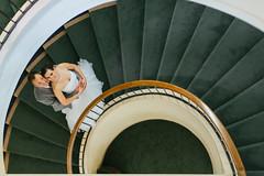 Tsakopoulos library galleria stairs wedding (ZekaG) Tags: fremontpresbytarianchurch gunnarandaimee lixximphotography sacramentodowntownwedding tsakopouloslibrarygalleria