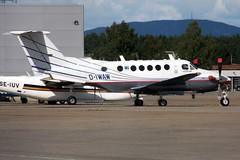 D-IWAW, OSL ENGM Gardermoen (Inger Bjrndal Foss) Tags: diwaw beechcraft super king air osl engm norway gardermoen