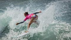 Chelsea Tuach.....    2016 SupergirlPro (Schoonmaker III) Tags: chelseatuach oceansideca pacificcoast prosurfer supergirlpro surfing wsl womensprosurfing surfer surfboard surfergirl surferchick pink