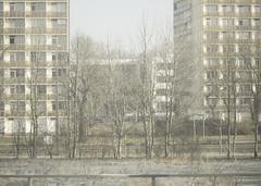 1862 (nogliwog) Tags: urban architecture dresden architektur viewfromtrain traintrips zugreisen wohnblöcke wohnsiedlungen