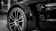 SL 65 AMG BLACK SERIES (ATFotografy) Tags: 6 white black net sports car canon germany eos mercedes benz extreme spokes performance engine super sl made exotic series dslr rim rims powerful tyres 65 amg dunlop v12 biturbo 600d worldcars atfotografy
