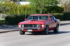 Ford Mustang Fastback First generation 1969 (hkkbs) Tags: 1969 car sweden outdoor bil vehicle sverige westcoast firstgeneration vstkusten kunglv raggare raggarbilar fordmustangfastback nikond800 tamronspaf150600mmf563divcusd kunglvscruising