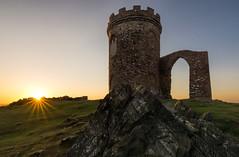 Bradgate sunrise (grbush) Tags: uk england sun tower sunrise dawn rocks leicestershire turret folly daybreak bradgatepark bradgate newtownlinford tokinaatx116prodxaf1116mmf28 sonyslta77 oldjohnstower