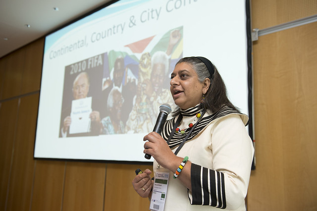 Johannesburg's Rehana Moosajee presents on global mass events