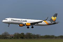 G-TCDD A321-211 (Ian Tate) Tags: ncl newcastleairport newcastleinternationalairport airbusa321 egnt thomascookairlines airbusa321211 sharklets gtcdd