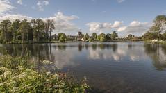 Melbourne Pool (Jonnyfez) Tags: church water pool landscape derbyshire wide melbourne d750 jonnyfez