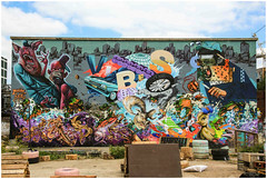 East End Street Art (Mabacam) Tags: streetart london wall graffiti stencil mural wallart urbanart shoreditch freehand publicart aerosolart spraycanart stencilling eastend greenhouseeffect 2015 urbanwall meetingstyles nomadiccommunitygardens