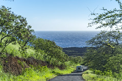 Southshore Highway (fotofrysk) Tags: road trees usa hawaii maui pacificocean van potholes rutted piilanihighway roadbeyondhana nikond7100 201411274436