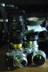 _1090120 / lens porn (doug_r) Tags: color naturallight sooc helios258 voightlandervitob panasonicgf1 jupiter114135 20160710 2016dtrosenoffallrightsreserved cameralensp0rn canon2890tsoniscoultrastar85mmanamorphiccinemascopelens panasonic281235