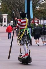 Gondolier (Fernanda Pavanello) Tags: italy usa canon concrete boat orlando epcot florida 100mm gondola waltdisneyworld themepark gondolier 600d efs18135mmf3556is