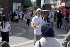 Jesus loves people (IanAWood) Tags: london streetphotography knightsbridge urbanlife summerinthecity walkingwithmynikon nikondf nikkorafs58mmf14g