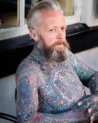 Stranger #64, Alex.jpg (Stephen B Jessop) Tags: whitby tattoos olympus 2016 portugal 100strangers em5mk2