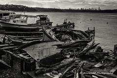 Wrecked Boat 3 (`ARroWCoLT) Tags: boat wrecked old wood sea beach seaside 700d stm f28 24mm canon kayk tekne blackandwhite monochrome vehicle outdoor siyahbeyaz sb bw beykoz istanbul pasabahce paabahe turkey trkiye bosphorus boazii brush