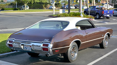 1971 Oldsmobile Cutlass 442 HT (Pat Durkin OC) Tags: 1971oldsmobile cutlass coupe 442 ht brown