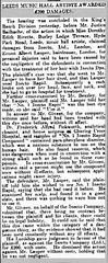 Ernest Lauper - Inecto hair dye court case from February 1922 (johnlauper) Tags: lauper hairdresser brixton ernestlauper inecto hairdye courtcase dorothyedithrivette