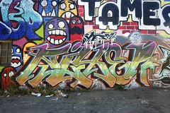 FIXER (STILSAYN) Tags: ca graffiti oakland bay east area 2016 fixer