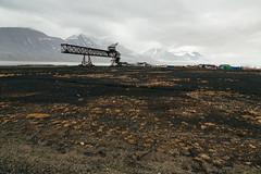 Arctic Industry (danielfoster437) Tags: adventure arctic arcticcircle arcticsummer arctictundra extremeterrain landscape mountain nature outdoors spitsbergen summer svalbard svalbardsummer terrain tundra wilderness