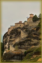 !   Subida !  (jose luis naussa ( + 1,9 k w. )) Tags: meteora monasterios grecia   saariysqualitypictures