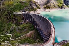Kaprun Mountain Reservoirs (Tuomo Lindfors) Tags: itvalta austria sterreich topazlabs dxo filmpack adjust kaprun mountainreservoirs reservoir pato dam hochgebirgsstauseen drossensperre jrvi lake vesi water alpit alps alpen vuori mountain