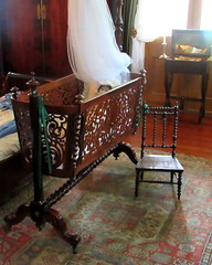 Oak Alley Plantation (quirkyjazz) Tags: old summer tree history cane architecture oak bedroom live year sugar southern american plantation inside 300 cradle