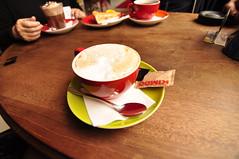 Cappuccino (aliademant) Tags: coffee caf denmark cozy nikon decorative cappuccino ribe 90d