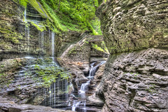 Watkins Glen HDR-12 (wiley_coyote7) Tags: watkinsglen waterfalls fingerlakes ny aurorahdr