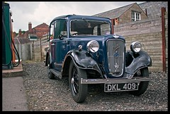 Austin Seven (zweiblumen) Tags: uk england classic vintage dudley hdr westmidlands tipton polariser austinseven blackcountrylivingmuseum 1940sweekend canoneos50d zweiblumen dkl409