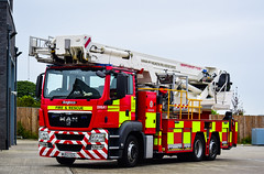 WU62OZG (firepicx) Tags: uk rescue ariel fire durham platform darlington service ladder emergency alp 999 wu62ozg