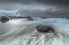 Myrland (Jerry Fryer) Tags: myrland norway lofoten islands sea coast beach frozen snow storm clouds moody seascape longexposure leefilters 6d canon ef1635mmf4l boulders mer landscape nomermaids reflections arctic