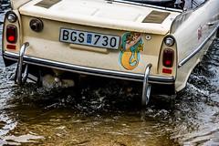 Amphicar Huskvarna Sweden 2016 (joohoo00) Tags: car boat bil sweden schweden nikon bilar lake sjö vättern bgs730 amphicar d810 water huskvarna