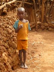 Me? (davidevarenni) Tags: boy young ethiopia konso tribe trib