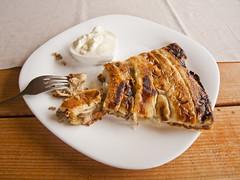 Mavrovska Pita (rante_to4ak) Tags: pie pita mavrovo macedonia food meat pastry burek kori kiselo mleko yogurt makedonija tasty fork plate table rante
